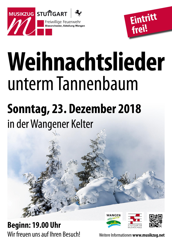2018 Plakat A3 Weihnachtslieder unterm Tannenbaum – neckarufer.info ...