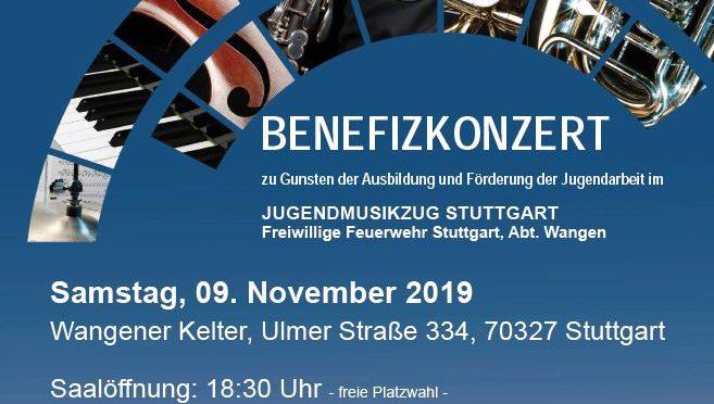 Landespolizeiorchester am 9.11.2019 in der Wangener Kelter
