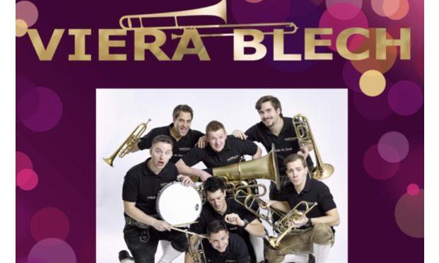 VERSCHOBEN – 30-Jahre Jubiläum Musikverein Untertürkheim: VIERA BLECH
