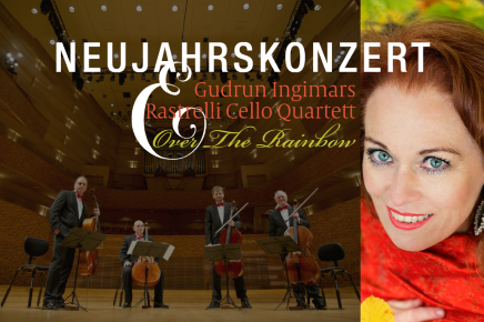 "31.1.2020: DAS NEUJAHRSKONZERT ""Over The Rainbow"" in der Weinmanufaktur"