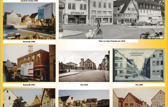 Fotos vom Wandel Untertürkheims in der Stadtteilbibliothek bis 10.1.2020