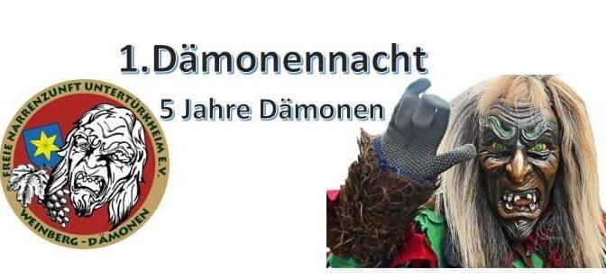 1. Dämonennacht in Obertürkheim am 25.1.2020