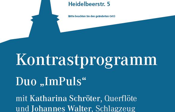 25.10.2020 – Obertürkheimer 5. Spazierwegkonzert – Kontrastprogrammm
