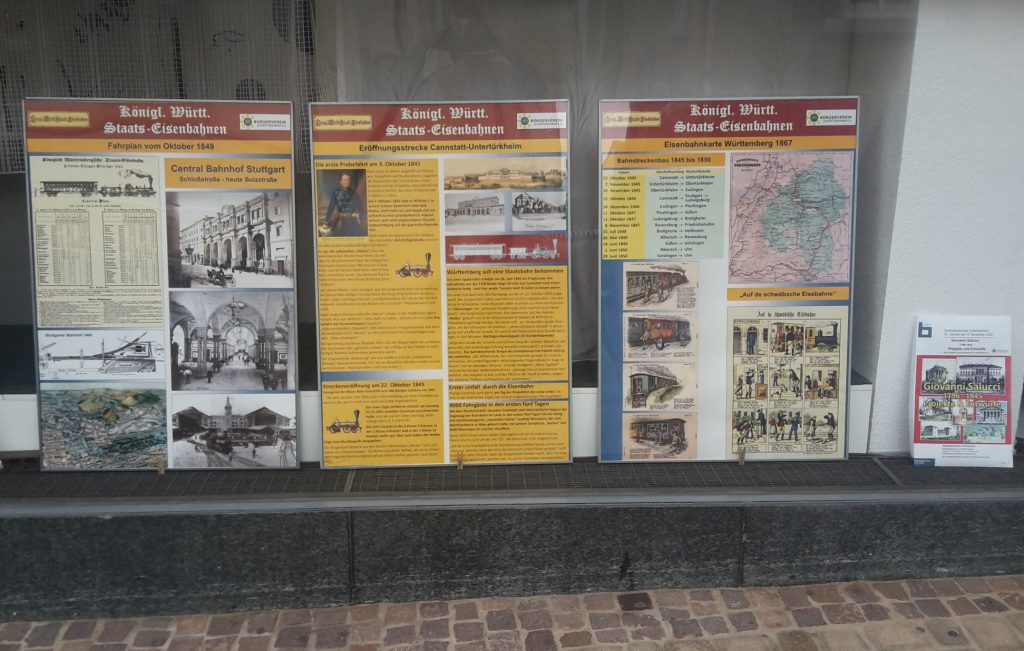 175 Jahre Schwäb. Eisenbahn
