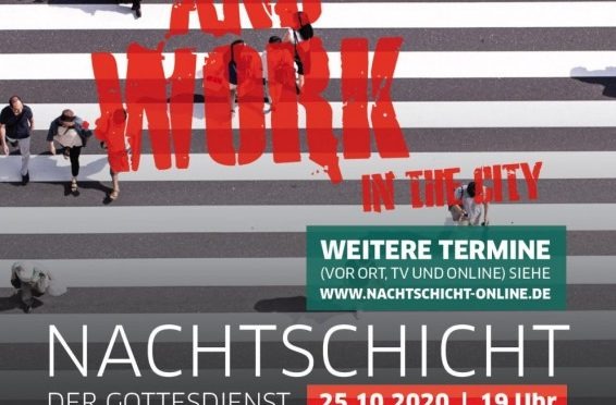 "Nachtschicht: ""Patch and Work – In the City"" am 24.+25.10.2020"
