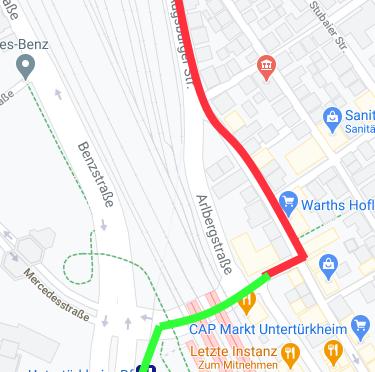 Karl-Benz-Platz – Verkehrschaos ab Mo 11.1. befürchtet