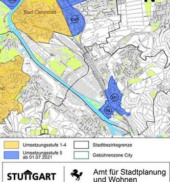 Untertürkheim – Parkausweis jetzt beantragen – gilt ab 1. Juli 2021