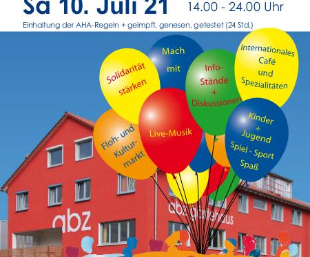 12. Neckarfest im ABZ-Süd am 10.7.2021